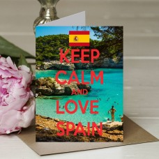 Keep Calm and Love Spain